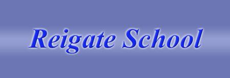 Reigate School logo