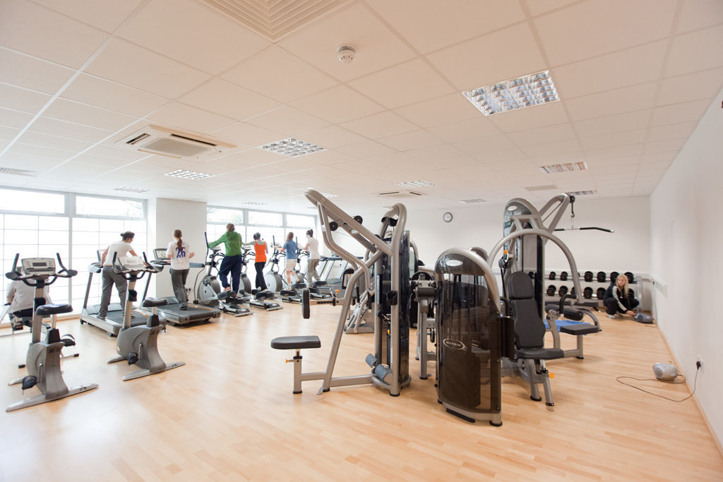 The Gym in the Lindley Sports Centre