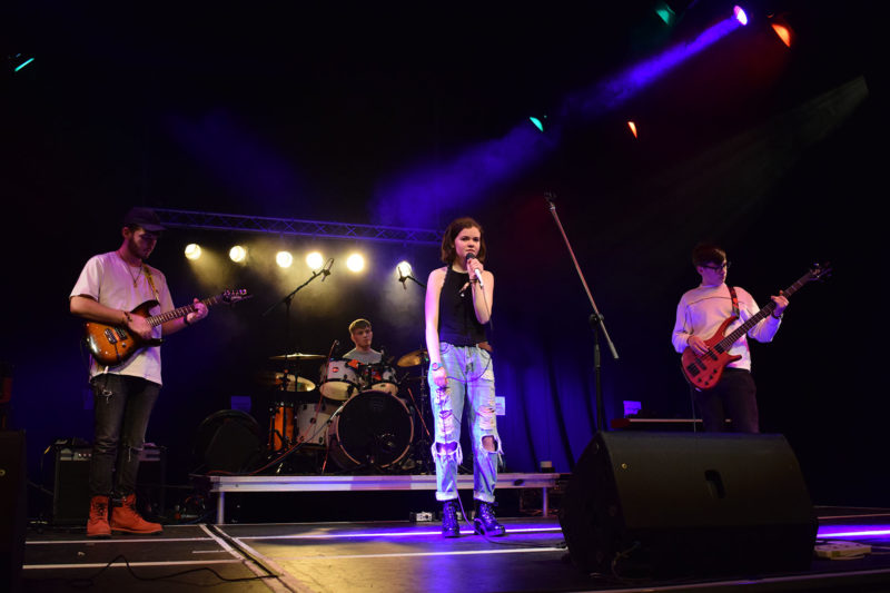 Hourglass, the winners of Reigate College's Battle of the Bands 2019
