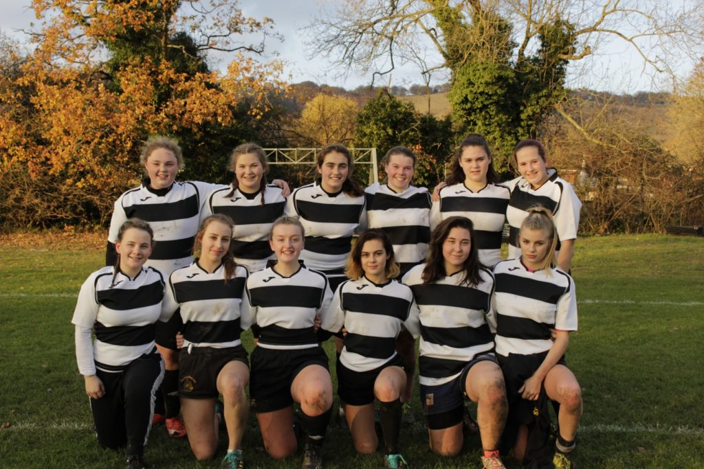 Ladies' rugby team