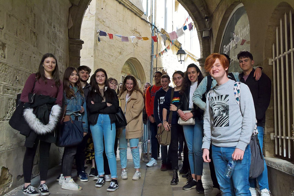 French trip Montpellier
