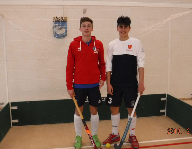 George (left) and Zac following their selection