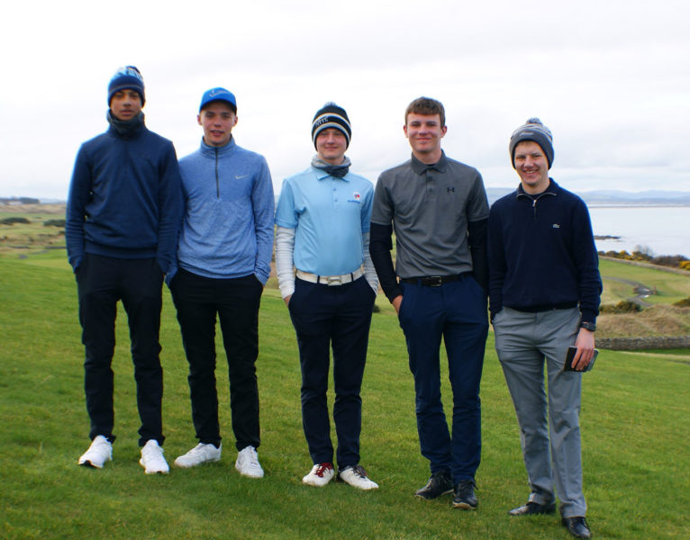 Congratulations to the five Reigate College students who recently took part in the AoC Sport Open Golf Championships 2019 at St Andrew's in Scotland. They gave some excellent individual performances and the team finished in 14th position overall – a fantastic achievement. The students who took part were Josh Newton, Callum Rice, Dylan Shepherd, Eoghan Morris and Lewis Whatsley-Davison. Find out more about Competitive Sport at Reigate College. Share this article: