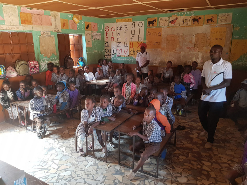 Wellingara Nursery School, the Gambia