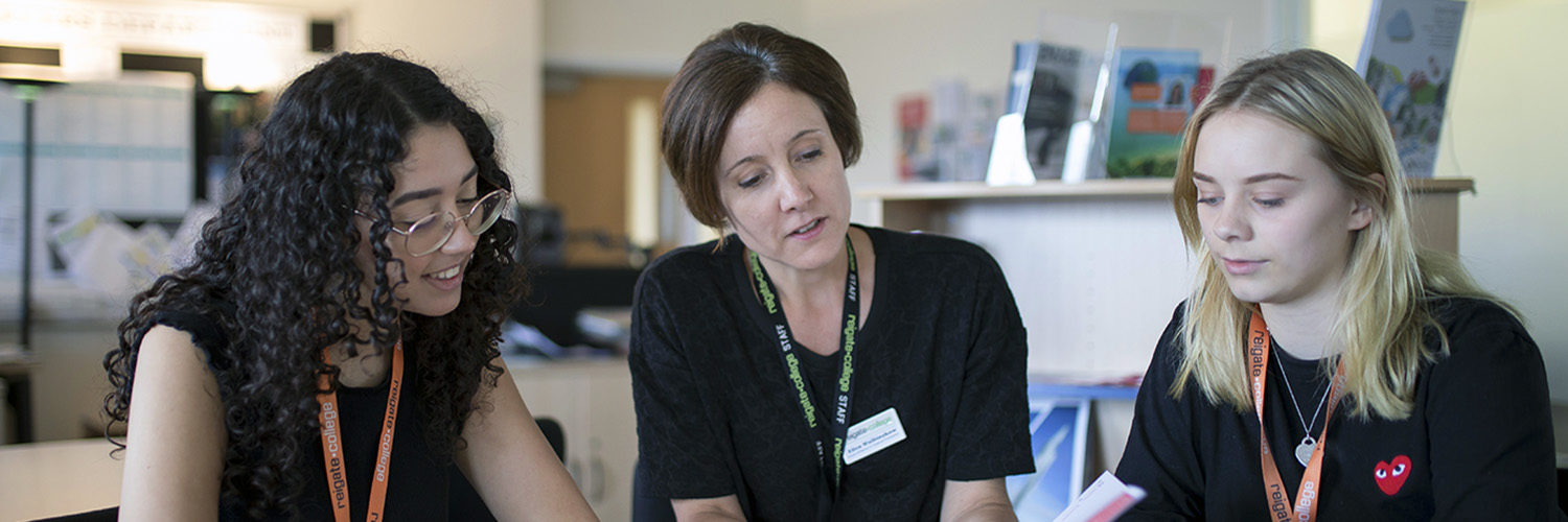 Careers and progression staff and students