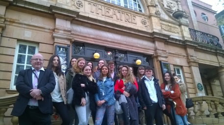 English Literature trip to see Dorian Gray at the Richmond Theatre