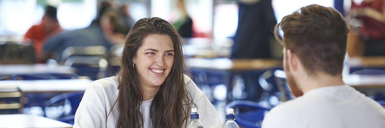 Reigate College student Abigail Sanders