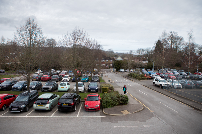Reigate College Free car-parking