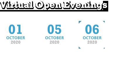 Virtual Open Evenings