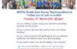 Train to Teach Event flyer