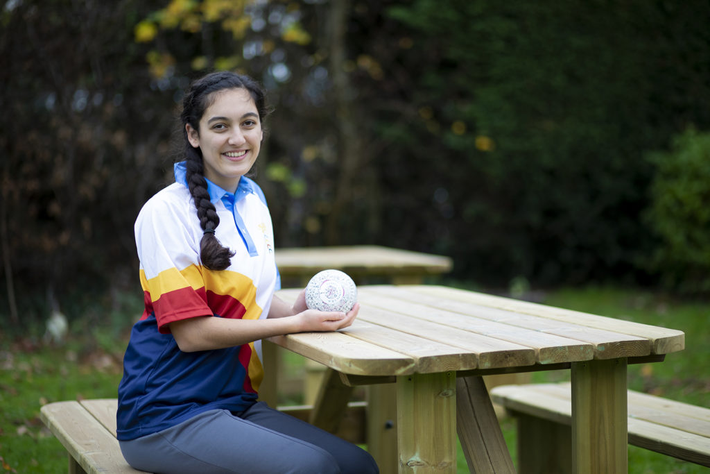 Ava Karanth: Outdoor and Indoor Bowls. Bletchingley Bowling Club