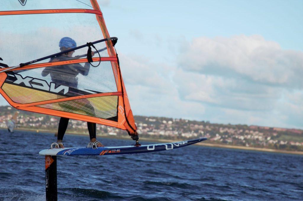 Jack Lugton: Windsurfing. Queen Mary Sailing Club