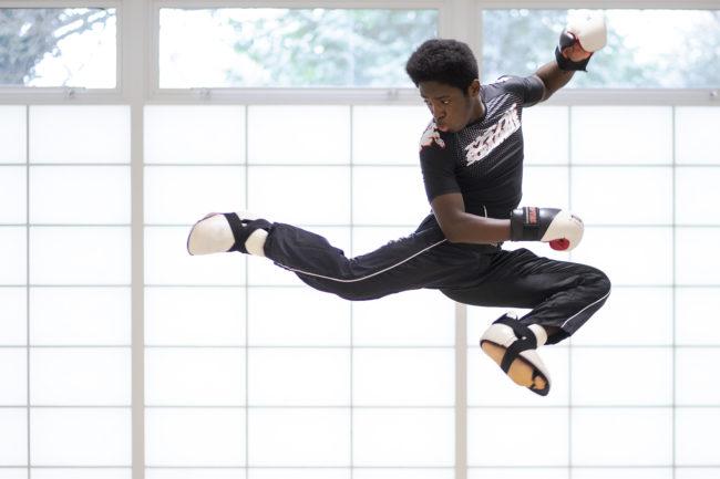 Kieran Foster: Competitive Kickboxing