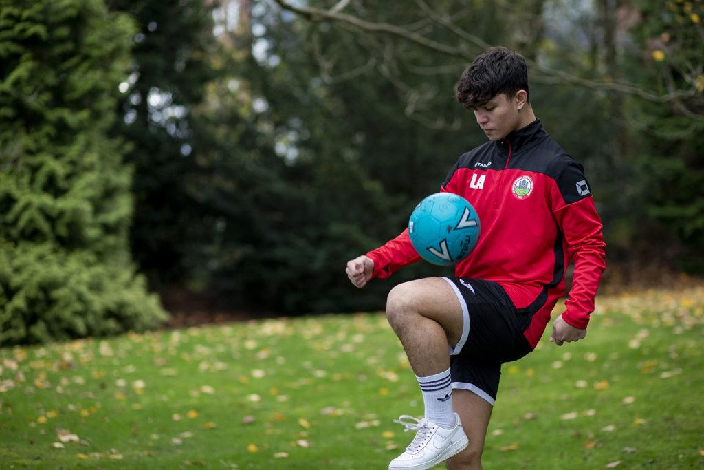 Lenny Avison: Football. Nigel James Academy and Surrey