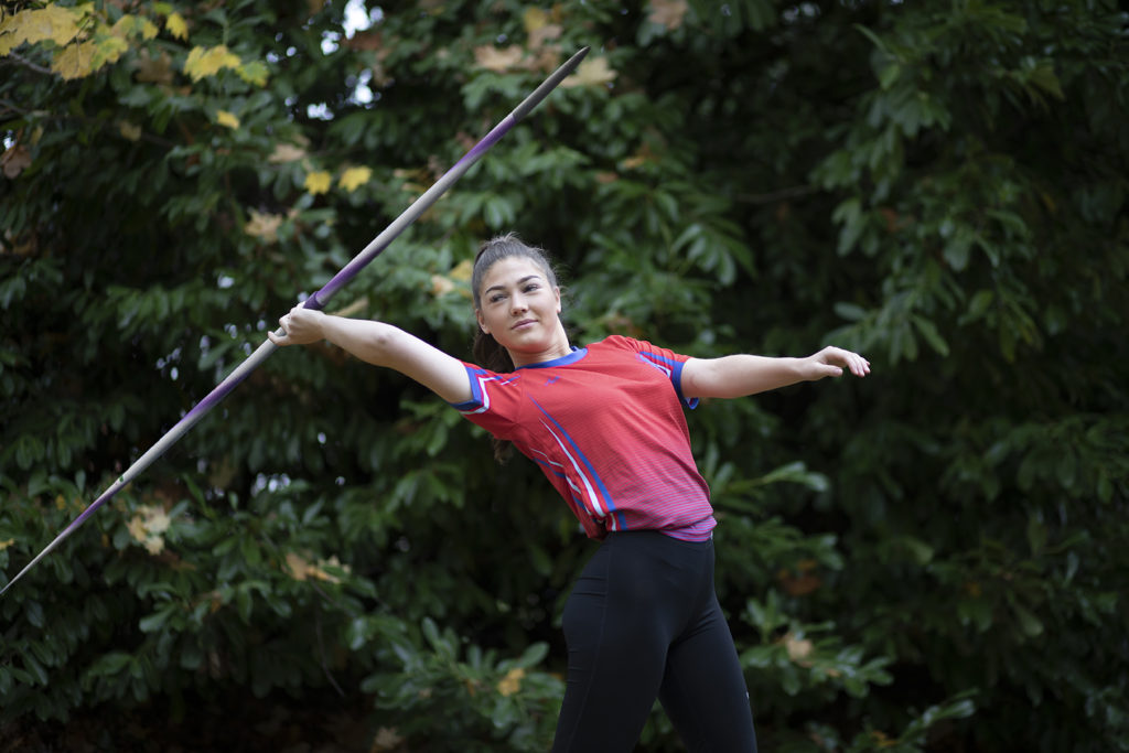 Lily Cain-Jones: Javelin. Reigate Priory AC