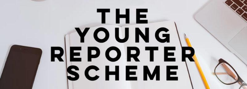 The Young Reporter Scheme logo