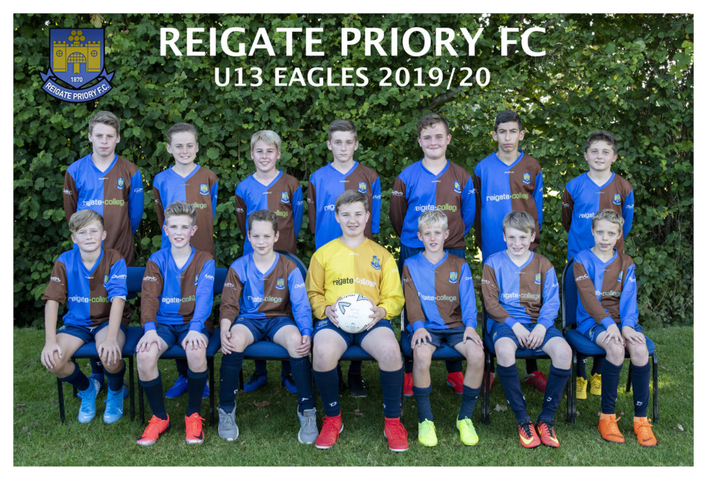 Reigate Priory Football Club Team